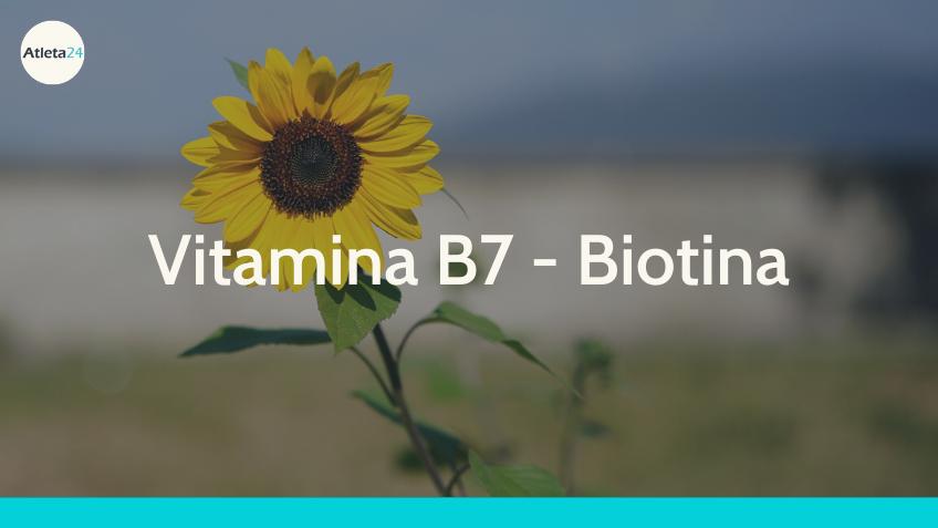 Vitamina B7 Biotina