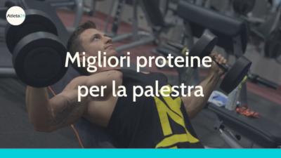 proteine da palestra