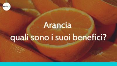 arancia benefici
